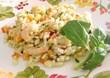 Pop corn caramellati con arachidi