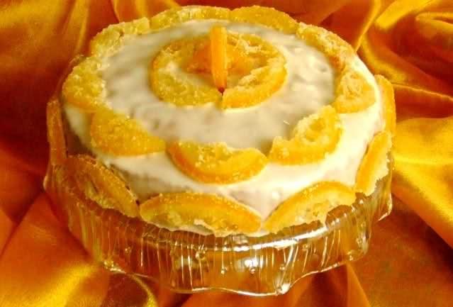 Torta glassata al limone o bettitorte