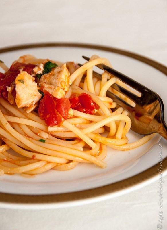 Ricetta Spaghetti Con Pesce Spada E Pomodori Confit Su Coquinariait
