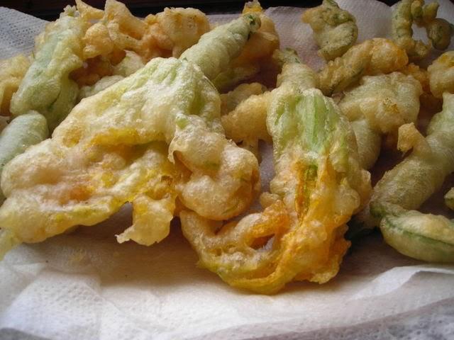 ricetta fiori di zucca o zucchina fritti in pastella
